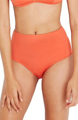 Madewell Second Wave Retro High-Wasted Bikini Bottoms