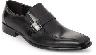 Kenneth Cole Reaction Black Good News Leather Loafers