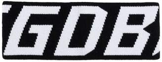 Golden Goose logo sweatband