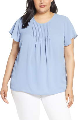CeCe Pintuck Blouse