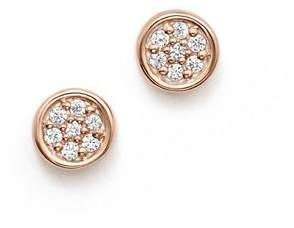 Bloomingdale's Diamond Bezel Set Small Stud Earrings in 14K Rose Gold, .10 ct. t.w. - 100% Exclusive