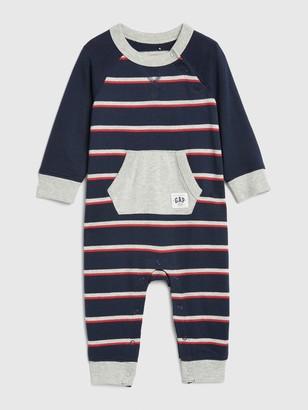 Gap Baby Stripe Raglan One-Piece
