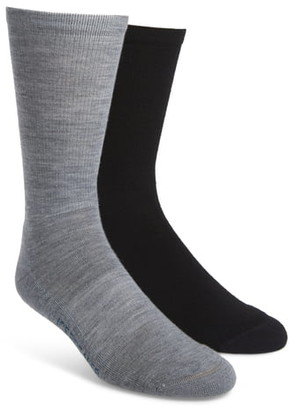 Icebreaker Lifestyle 2-Pack Merino Wool Blend Light Crew Socks