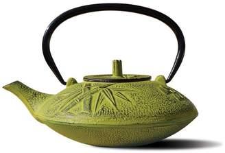 Old Dutch International Moss Green Cast Iron Sakura Teapot