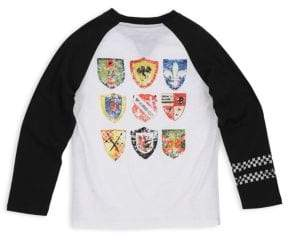 Butter Shoes Little Boy's& Boy's Shield Graphic Tee