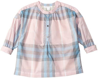 Burberry Girls' Checked Shirt