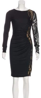 Emilio Pucci Long Sleeve Lace Dress w/ Tags