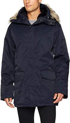 French Connection Men's Hooded Bystander Nylon