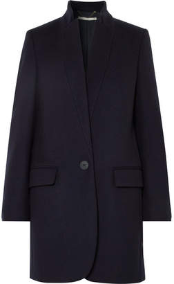 Stella McCartney Bryce Melton Wool-blend Coat - Midnight blue