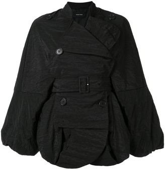 Simone Rocha oversized double breasted jacket