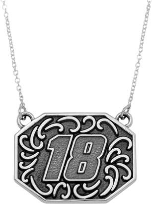 "Insignia Collection NASCAR Kyle Busch Stainless Steel ""18"" Pendant"