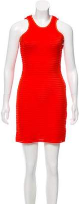 Lanvin Mesh Sheath Dress