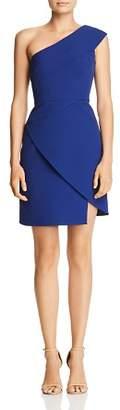 BCBGMAXAZRIA Aryanna One-Shoulder Cocktail Dress
