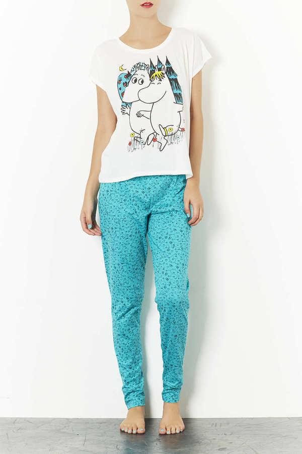 Topshop Moomin Meadow PJ Set