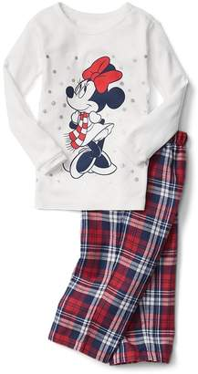 Gap babyGap | Disney Baby Minnie Mouse plaid PJ pants