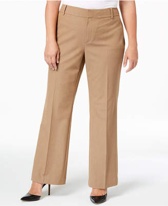 Charter Club Plus Size High-Waist Pants, Created for Macy's