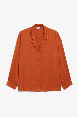 Monki Satin blouse