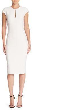 Ralph Lauren Collection Jenelle Wool Dress $1,490 thestylecure.com