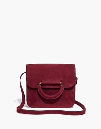 Madewell The Holland Shoulder Bag in Nubuck Leather