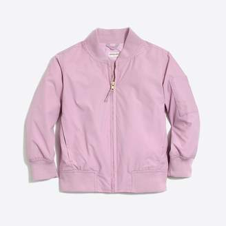 J.Crew Factory Girls' bomber jacket