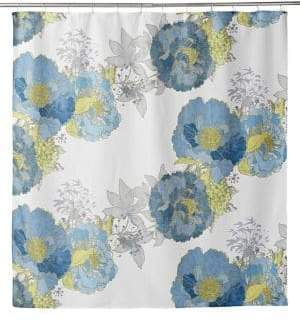 Distinctly Home Floral Shower Curtain