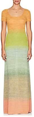 Missoni Women's Gradient Knit Fit & Flare Maxi Dress