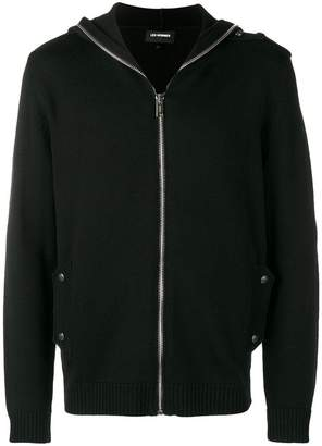 Les Hommes zipped hoodie
