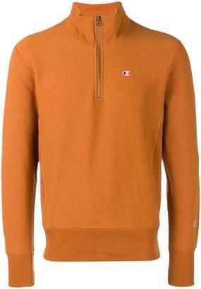 Champion zipped high neck sweatshirt