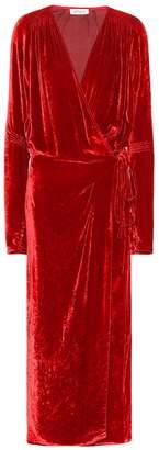 ATTICO The Victoria velvet dress