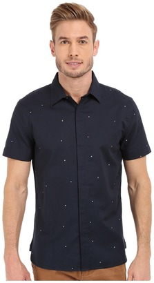 Perry Ellis Exclusive Pin Dot on Oxford Fabric Shirt $49.99 thestylecure.com