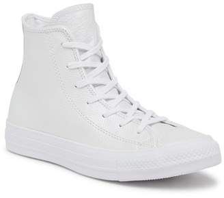 Converse Chuck Taylor All Star Leather High Top Sneaker (Women)