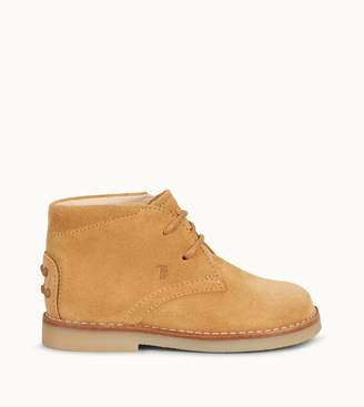 Tod's Tods Junior Desert Boots in Suede