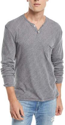 Joe's Jeans Men's Wintz Long-Sleeve Henley T-Shirt