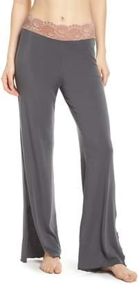 Samantha Chang Lace Trim Pants