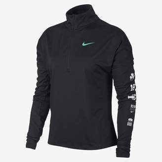 Nike Element (Boston 2018) Women's Half-Zip Running Top