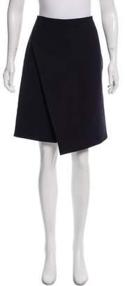 Balenciaga Asymmetrical Knee-Length Skirt