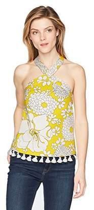 Trina Turk Women's Cedar Sleeveless Tassel Top