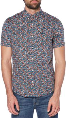 Original Penguin Ditsy Floral Print Woven Shirt