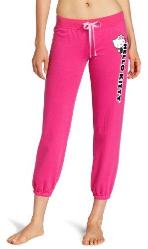 Hello Kitty Juniors Hk Loves Me Printed Solid Sleep Pant