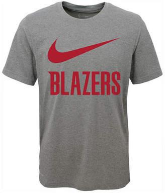 Nike Portland Trail Blazers Swoosh Team T-Shirt, Big Boys (8-20)