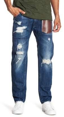 Daniel Won Distressed Slim Fit Harem Jeans