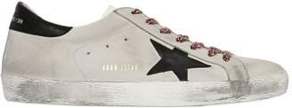 Golden Goose Super Star Nubuck Leather Sneakers