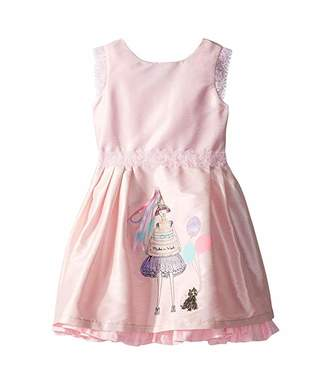 fiveloaves twofish Birthday Wishes Party Dress (Toddler/Little Kids/Big Kids)