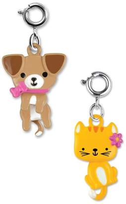 High Intencity CHARM IT!(R) 2-Pack Swivel Kitty & Puppy Charms