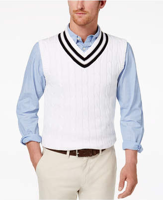 Club Room Men's Cricket Sweater Vest, Created for Macy's