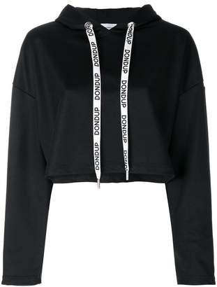 Dondup branded drawstring hoodie