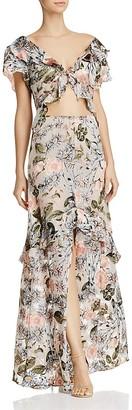 For Love & Lemons Luciana Maxi Dress $317 thestylecure.com