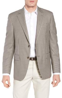 Peter Millar Classic Fit Check Wool Sport Coat