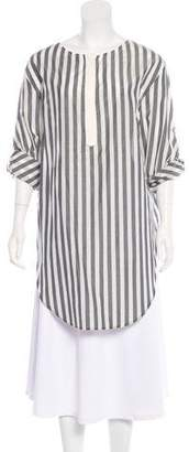 3.1 Phillip Lim Stripped Long Sleeve Top
