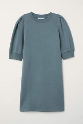 H&M Sweatshirt Dress - Turquoise